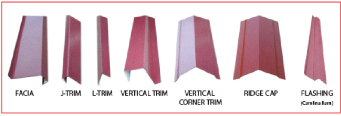 Trim customized like you want to fit your buidings desired look.